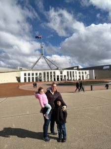 canberra with kids