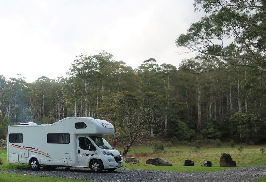 Honeycomb Caves Campground – Mole Creek Karst National Park, TAS