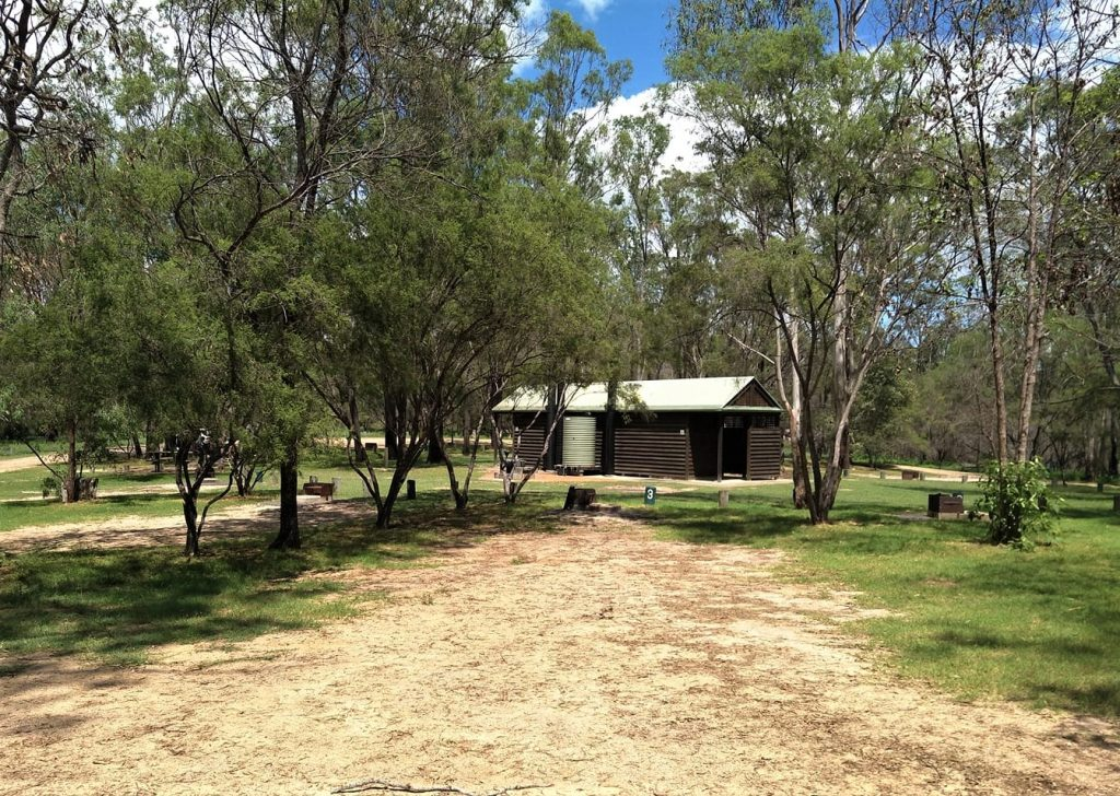 crows nest national park camping