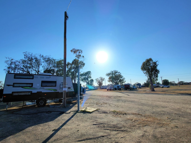 goondiwindi showgrounds camping